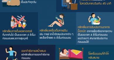 10 เคล็ด(ไม่)ลับช่วยให้นอนหลับได้ดี